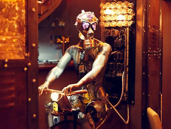 Bar Steampunk Enigma