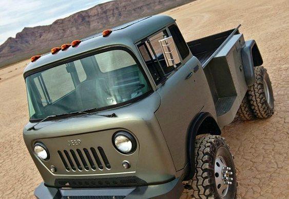 Kombi adaptada como Jeep