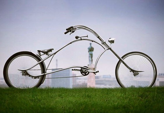 Bicicleta custom chopper