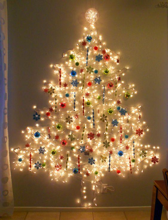 Decoração natalina em espaço apertado