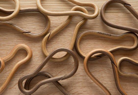 Acessório de madeira