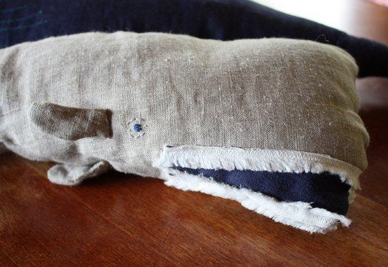Travesseiro de baleia