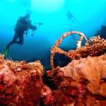 Jipes da Segunda Guerra Mundial repousam no fundo do mar