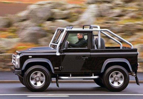 Fim do Defender Land Rover