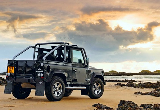 Land Rover Defender aposentado