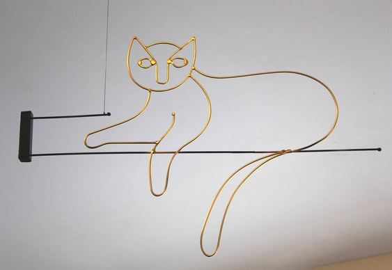 Decoração com gatinho
