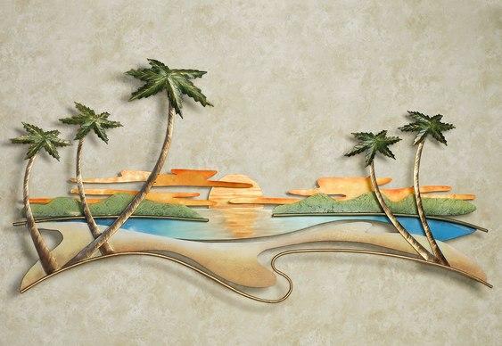 Cenário tropical em 3D