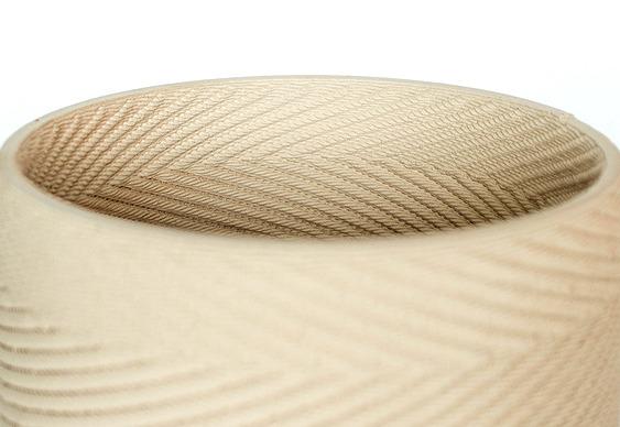 Modelagem de barro com ondas sonoras