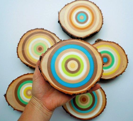 Artesanato com galhos de árvores