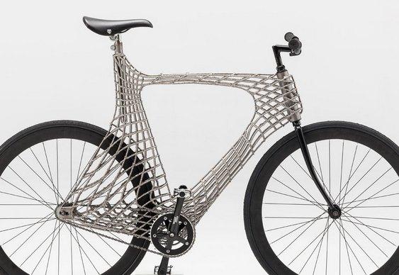Quadro inovador de bike