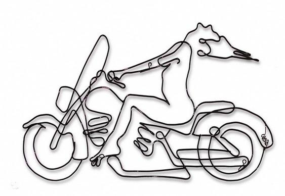 Pelada de motocicleta