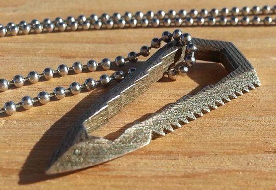 Bijuteria funcional de aço inox