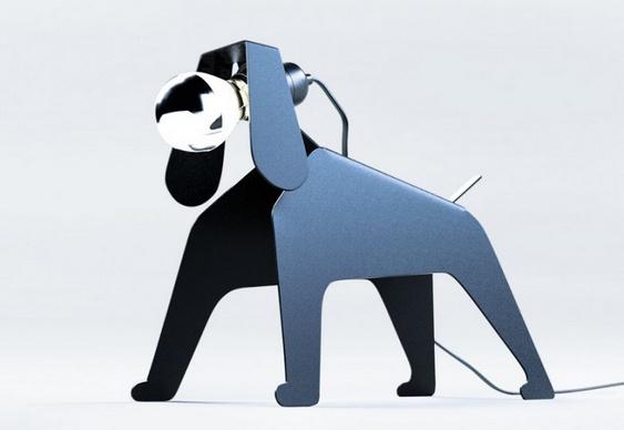 Abajur cãozinho
