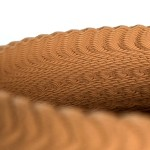Vasos de cerâmica feitos com a vibração das ondas sonoras