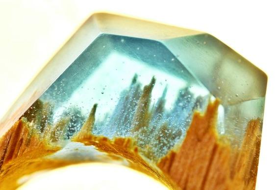 Joia com imitação de cristal