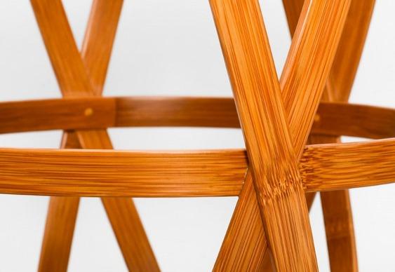 Banquinho de bambu