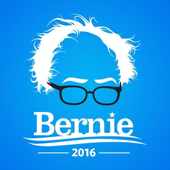 Banner de Bernie Sanders