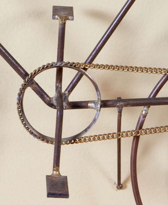 Réplica em miniatura de bicicleta