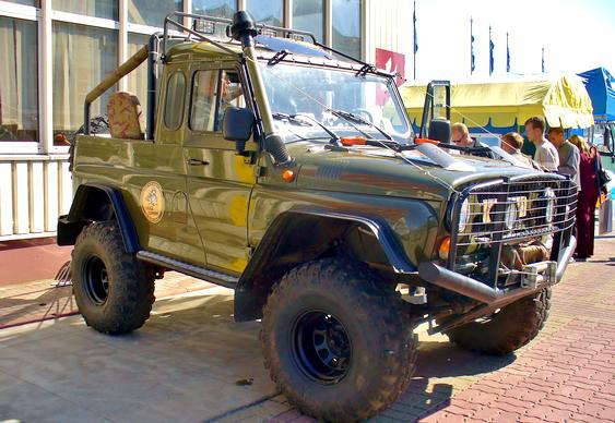 Jeep custom da Russia