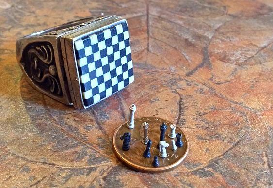 Menor xadrez do mundo