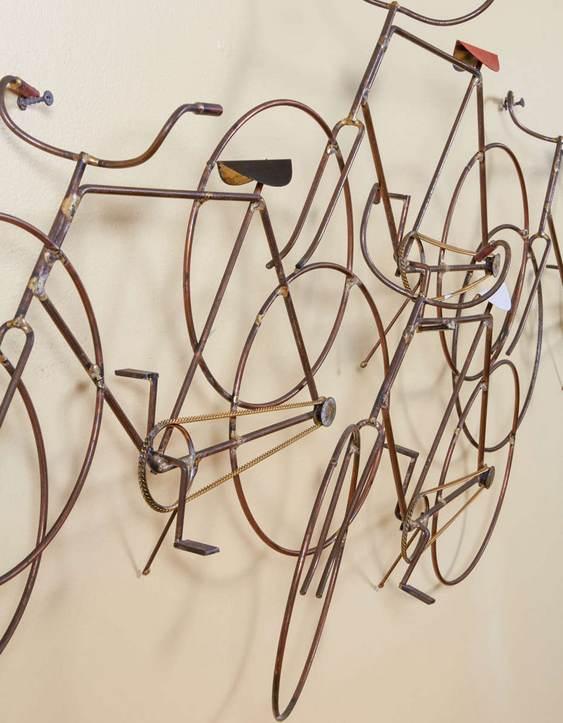 Bicicletas de vergalhão de aço