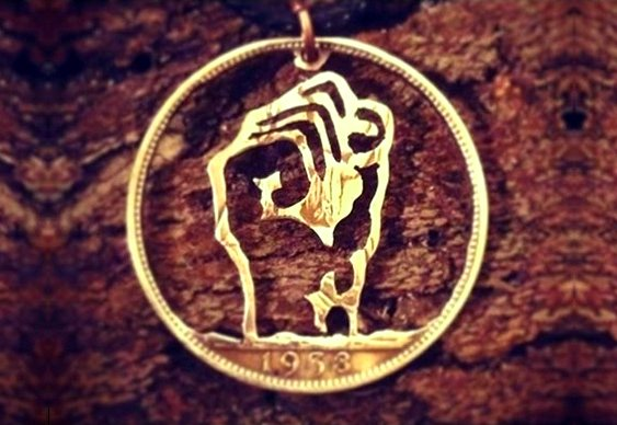 Medalha para chaveiro