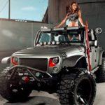 A bela e a fera: Arianny Celeste versus Jeep Wrangler Rubicon