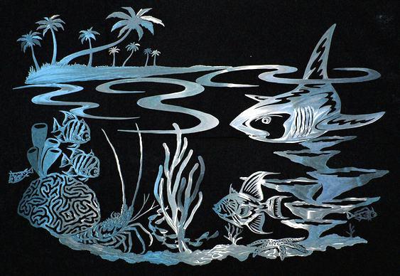 Vida marinha na decoração