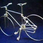 Como fazer bicicleta com arame de alumínio em miniatura