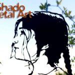 Contrastes de fotos personalizadas em chapas vazadas de metal