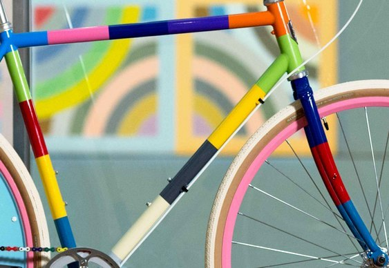 Bike super colorida