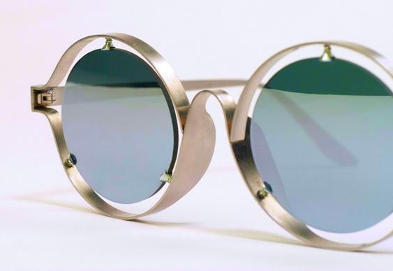 Design de óculos moderno