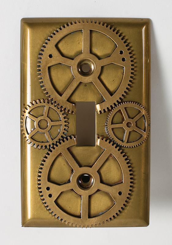 Interruptor steampunk