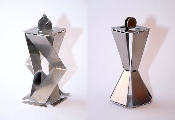 Origami em chapas de aço
