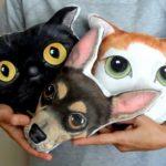 Almofadas personalizadas com a carinha do seu cão ou gato