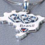 Pingente alternativo celebra Jogos Olímpicos Rio 2016 no Brasil