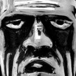 Anel de prata Frankenstein com a cabeça do Herman Monstro
