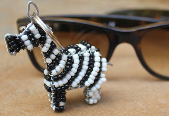 Chaveiro zebra