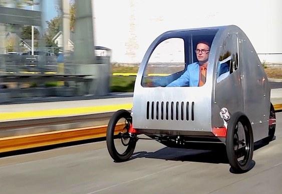 Veículo urbano do futuro