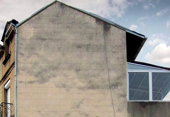 Fachada de prédio para instalação de letreiro