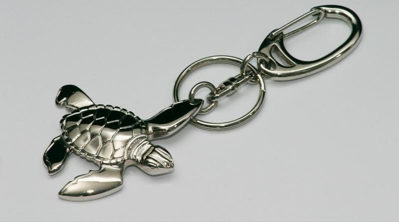 Animal marinho fundido em pewter