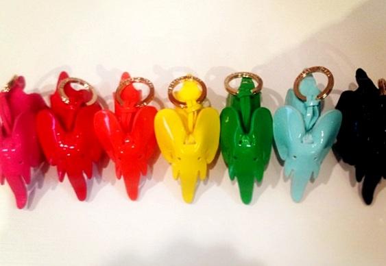 Chaveirinhos promocionais coloridos