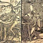 Xilogravuras mostram aparições de OVNIs e ETs na Idade Média