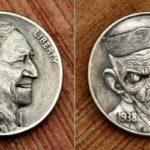 Hobo Nickel: a arte de modificar a cunhagem original das moedas