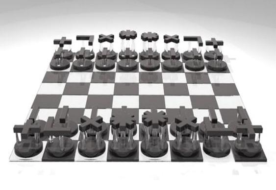 Movimento das peças de xadrez