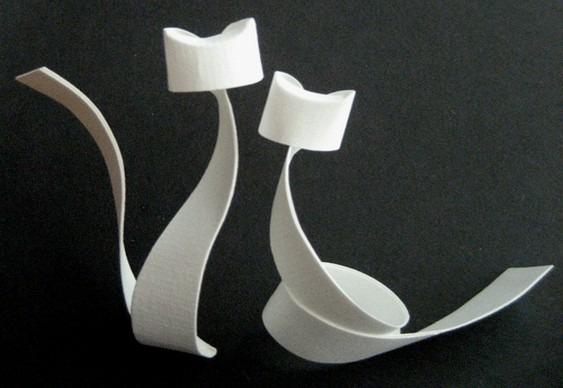 Origamis de gatos