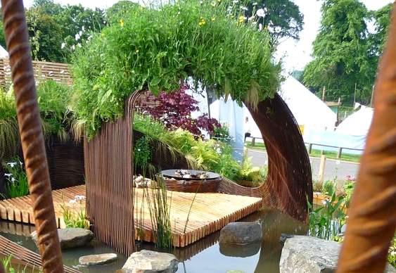 Laguinho para jardim