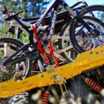 Rack custom de mountain bike para Jeep e veículos off-road
