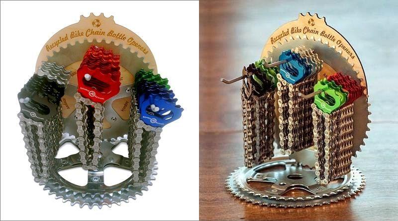 Expositor para chaveiros de bicicleta