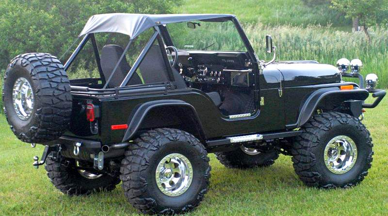 Jeep Willys CJ5 custom
